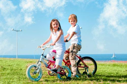 Загадки про велосипед для детей с ответами