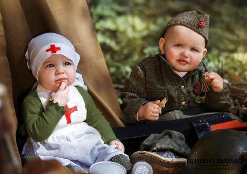 фотосессия детям ко Дню Победы