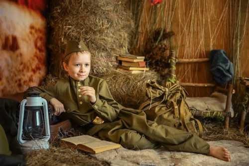 детская фотосессия на Праздник Победы