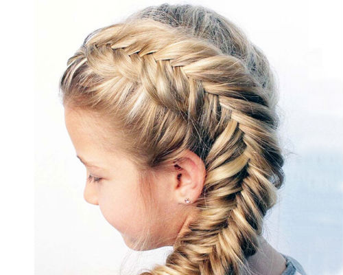 Прически с косами для девочки