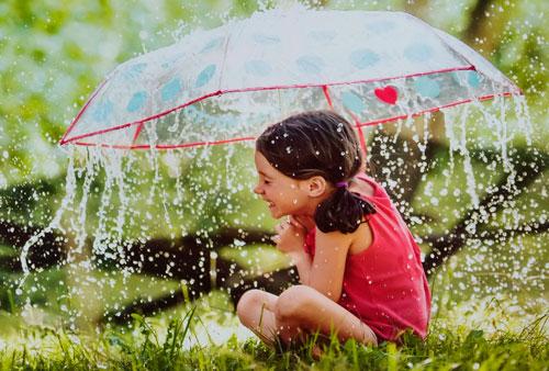 Загадки про зонтик для детей с ответами
