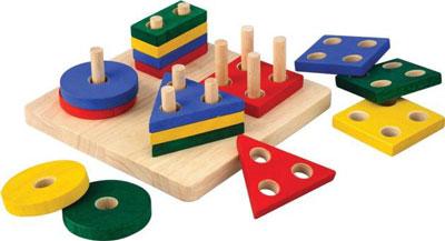 сортер - лучшая игрушка для детей