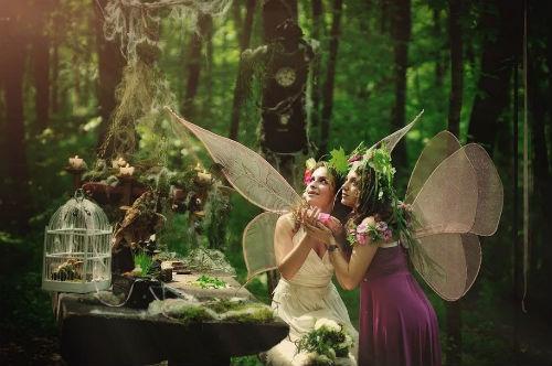 Интересные идеи для лесной фотосессии 2