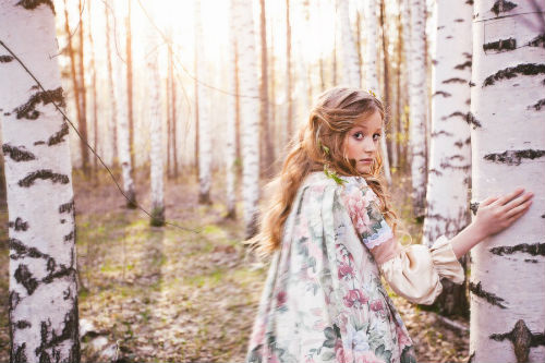 Интересные идеи для лесной фотосессии 6