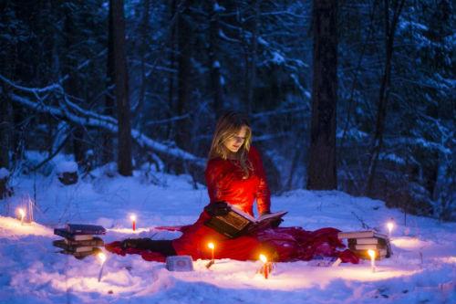 Как организовать фотосессию в лесу, идеи 3