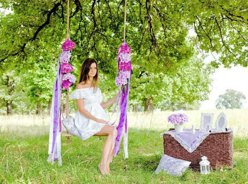 Лесная фотосессия и идеи для девушек, для двоих - любовной или семейной пары 2