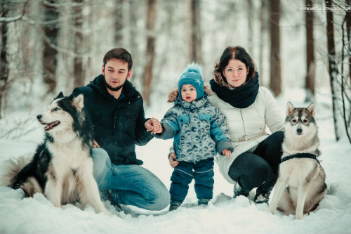 Лесная фотосессия и идеи для девушек, для двоих - любовной или семейной пары 7