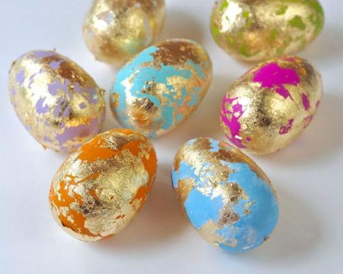 Роспись и покраска пасхальных яиц