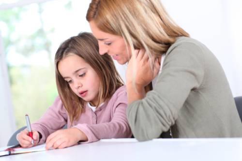 учим ребенка самому делать уроки