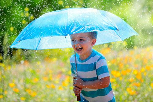 Загадки про зонтик с ответами для детей