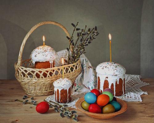 Откуда пришла традиция красить яйца