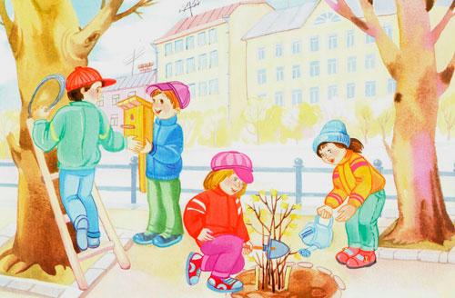 Короткие и красивые стихи о весне для детей 5-7 лет