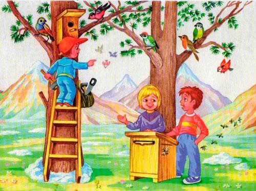 Короткие и красивые стихи о весне для детей