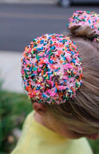 Детские прически, которые развеселят: пироженное