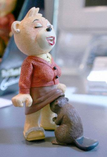 Детские игрушки, которые напугают и взрослых: медведь