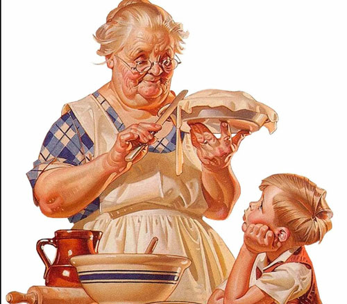 Прикольные частушки про бабушку