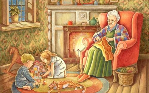 Частушки про бабушку