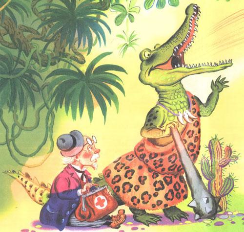Загадки про крокодила для детей 5-7 лет