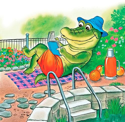 Загадки про крокодила для детей с ответами