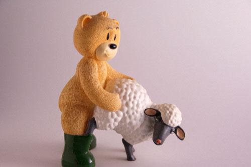Детские игрушки, которые напугают и взрослых: медвежёнок