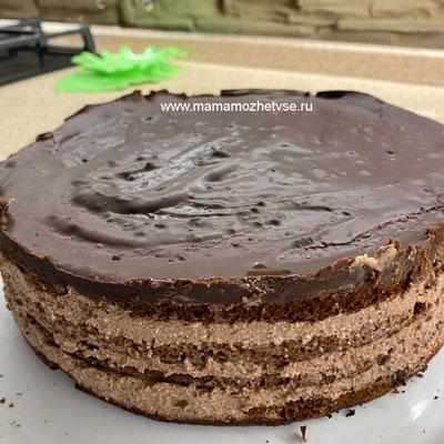 Шоколадный торт 11
