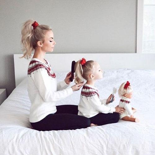 идеи для фотосессии с дочкой 5