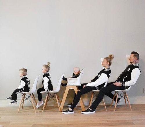 прикольноя фотосессия с детьми в студии и дома