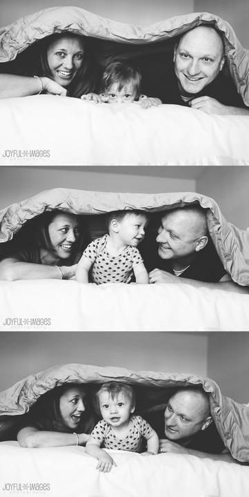 фото на кровати с детьми