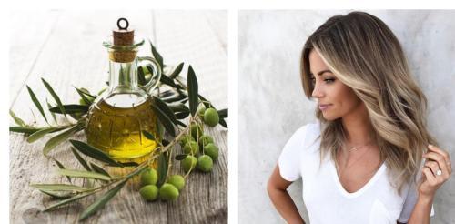 осветлить волосы оливковым маслом