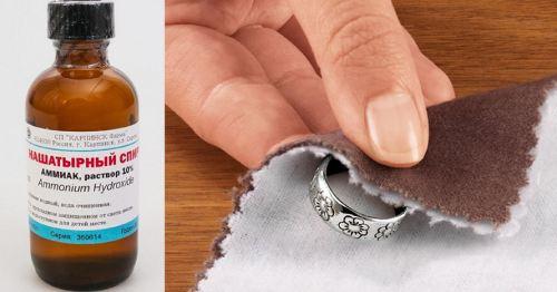 почистить серебро эффективно