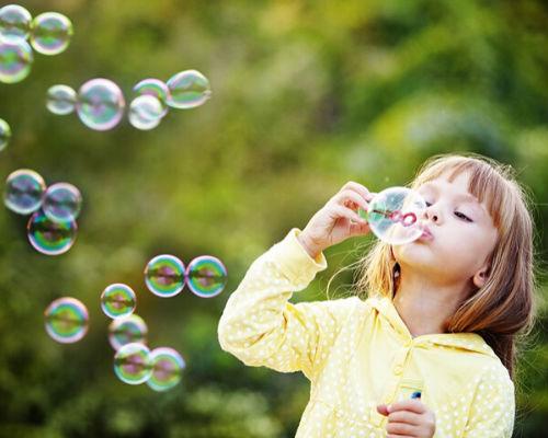 Распространённые рецепты мыльных пузырей