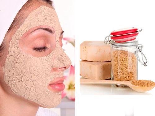 маска для лица из дрожжей
