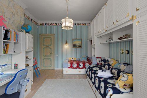 детские комнаты разнополых детей_10