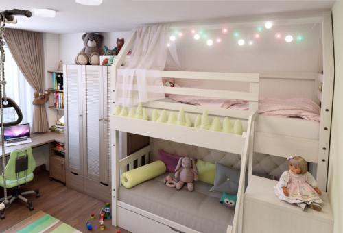 детская комната разнополых детей_14