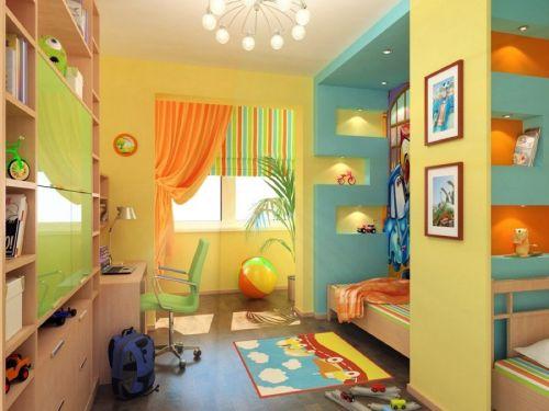 детская комната разнополых детей_15