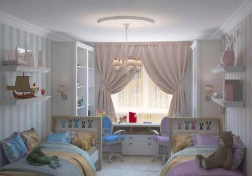 детская комната для разнополых детей_17