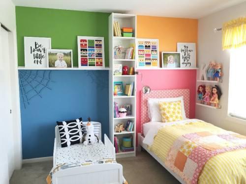детские комнаты разнополых детей_2