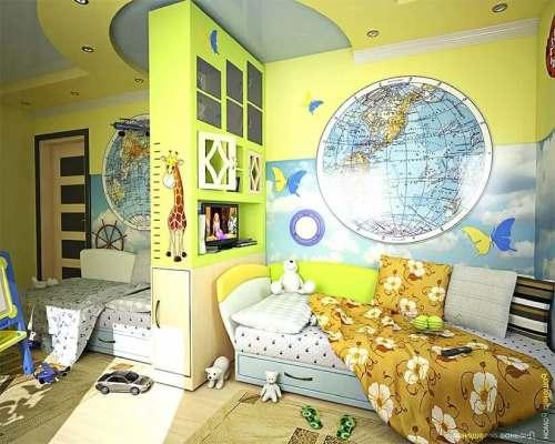детская комната разнополых детей_24