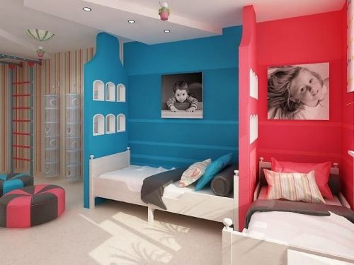 детская комната для разнополых детей_28