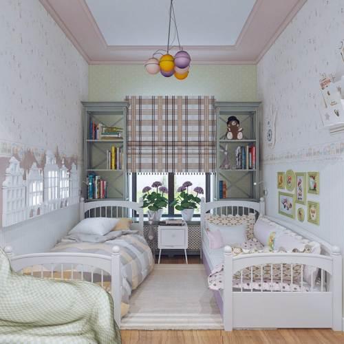 детская комната разнополых детей_29