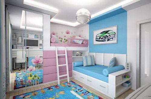 детские комнаты разнополых детей_3
