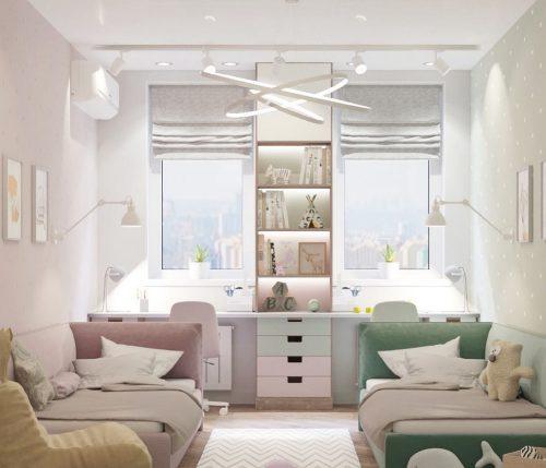 детская комната разнополых детей_33
