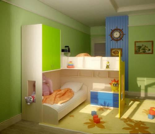 детские комнаты разнополых детей_4