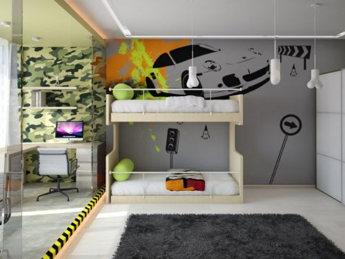 детская комната подростка_2