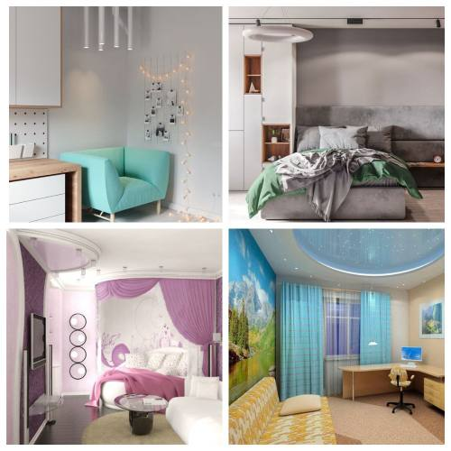 дизайн комнаты подростков