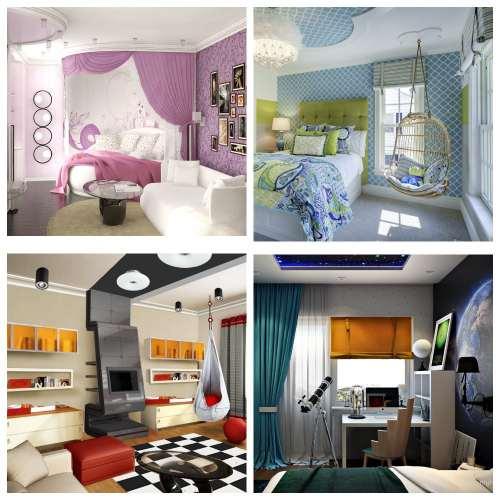 дизайн комнаты подростков_7