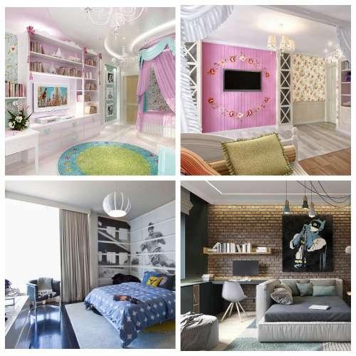 комната подростков дизайн интерьера