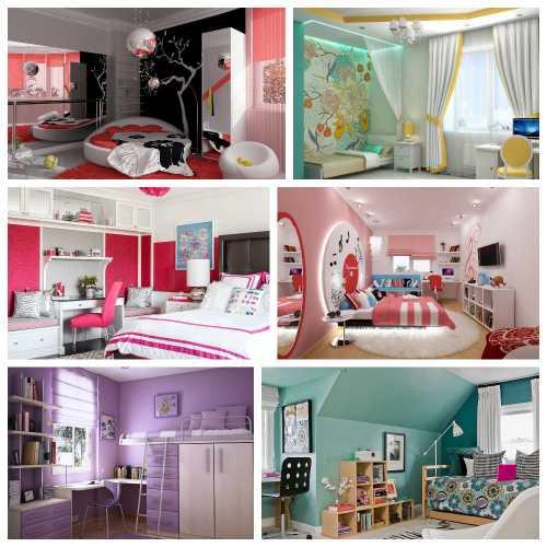 дизайн комнаты подростков_1
