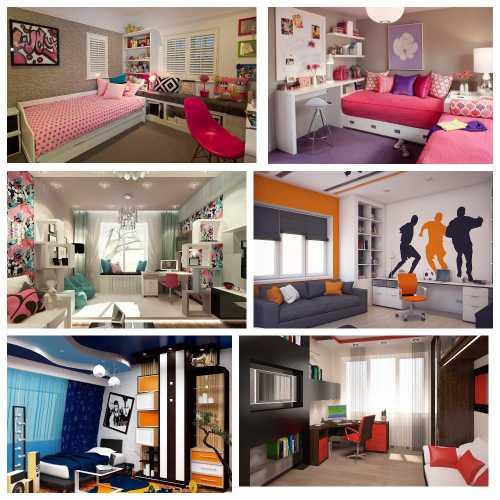 дизайн комнаты подростков_3