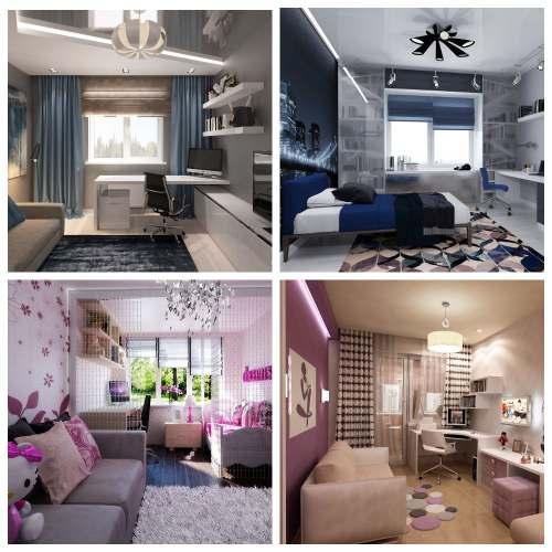 дизайн комнаты подростков_4